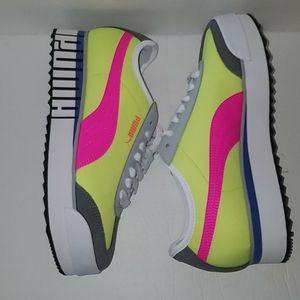 Puma Roma Amor Colorblock Platform Sneakers Sz 9